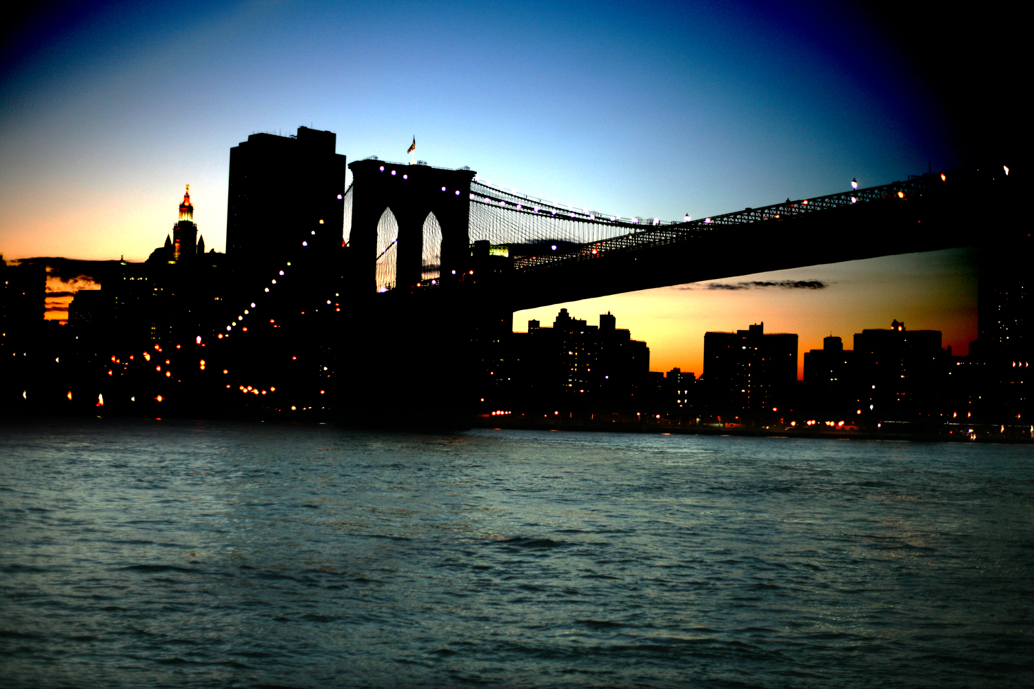 Brooklyn Bridge / Brooklyn,Manhattan